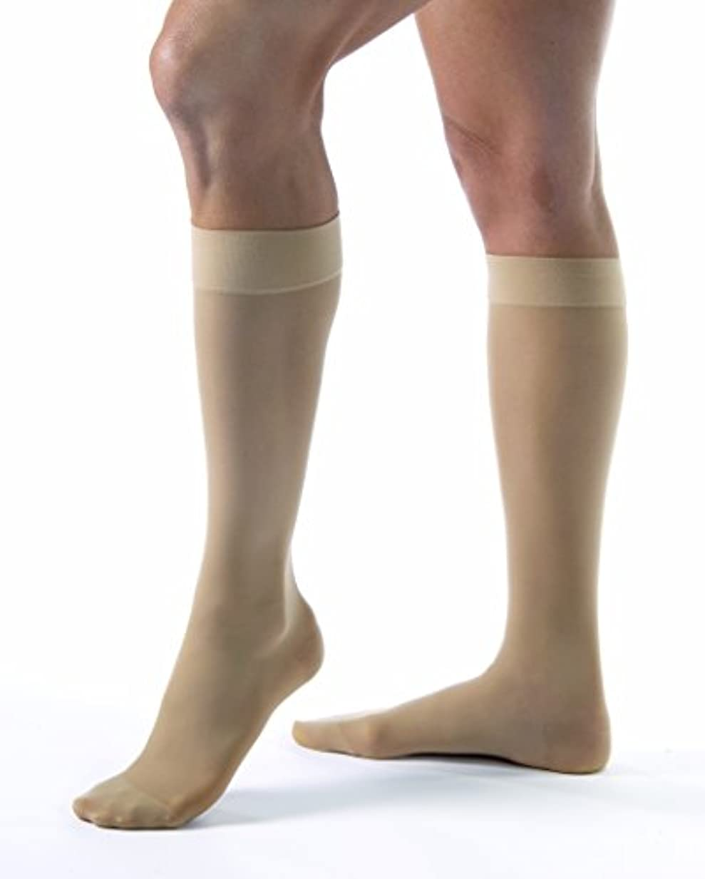 BSN Medicals 7768117 Jobst UltraSheer Knee High Compression Stockings, 20-30 Extra Large Full Calf