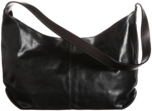 Paraffin Coated Leather Shoulder Bag ホーボー