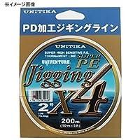 ユニチカ(UNITIKA) ライン ユニベンチャージギングX4 200m 1.5号