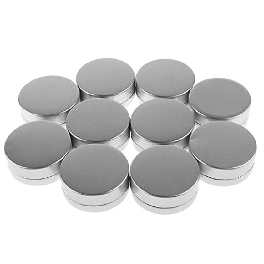 流行している回路検閲10g 小型 空 ケース ラウンド 化粧品 クリーム リップクリーム 空 詰め替え 容器 蓋付き 10個入り