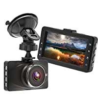 SAN_R 3インチ車DVRカメラスプリントカメラフルHD 1080 pビデオレコーダーナイトビジョン広角車カメラ