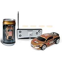 ミニラジコンカー 1:63 ラジコンカー ラジコン缶 レーシングカーシリーズ(ランダムカラー)mini RC Car RT@JPZCP01S