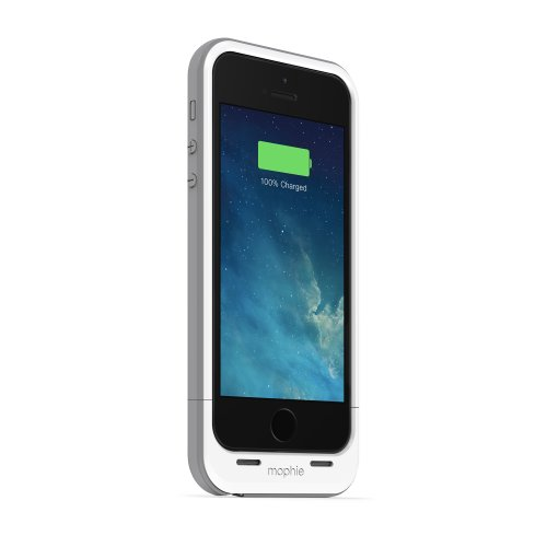 mophie Juice Pack Plus for iPhone SE/5s/5 - Whitecompatible. by mophie