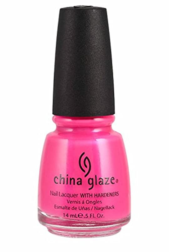 孤児ひどいあそこChina Glaze Nail Lacquer 1006 Pink Voltage 70291 (並行輸入品)