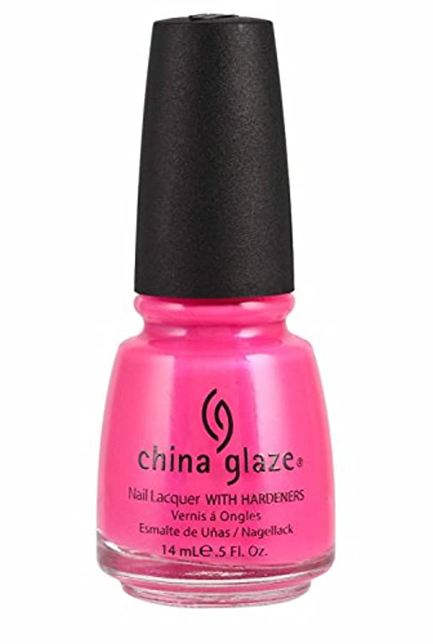 散歩に行く夜ディプロマChina Glaze Nail Lacquer 1006 Pink Voltage 70291 (並行輸入品)