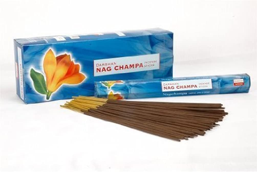 リレー成長不幸Nag Champa – 120 Sticksボックス – Darshan Incense