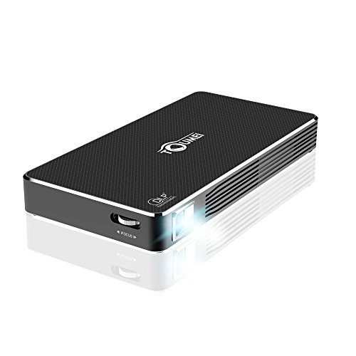 Sugoiti DLPプロジェクター ワイヤレス接続 1080PフルHD USB/HDMI/SDカードサポート DLNA/Miracast/Airplay対応 C800 ブラック
