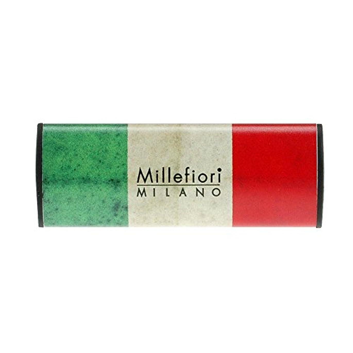 ごみリーフレット砂漠Millefiori カーエアフレッシュナー FLAG グレープフルーツ CDIF-G-004
