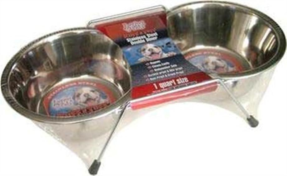 ナビゲーションダーリン世界記録のギネスブックLoving Pets Double Diner Dog Bowl, 1-Pint by Loving Pets