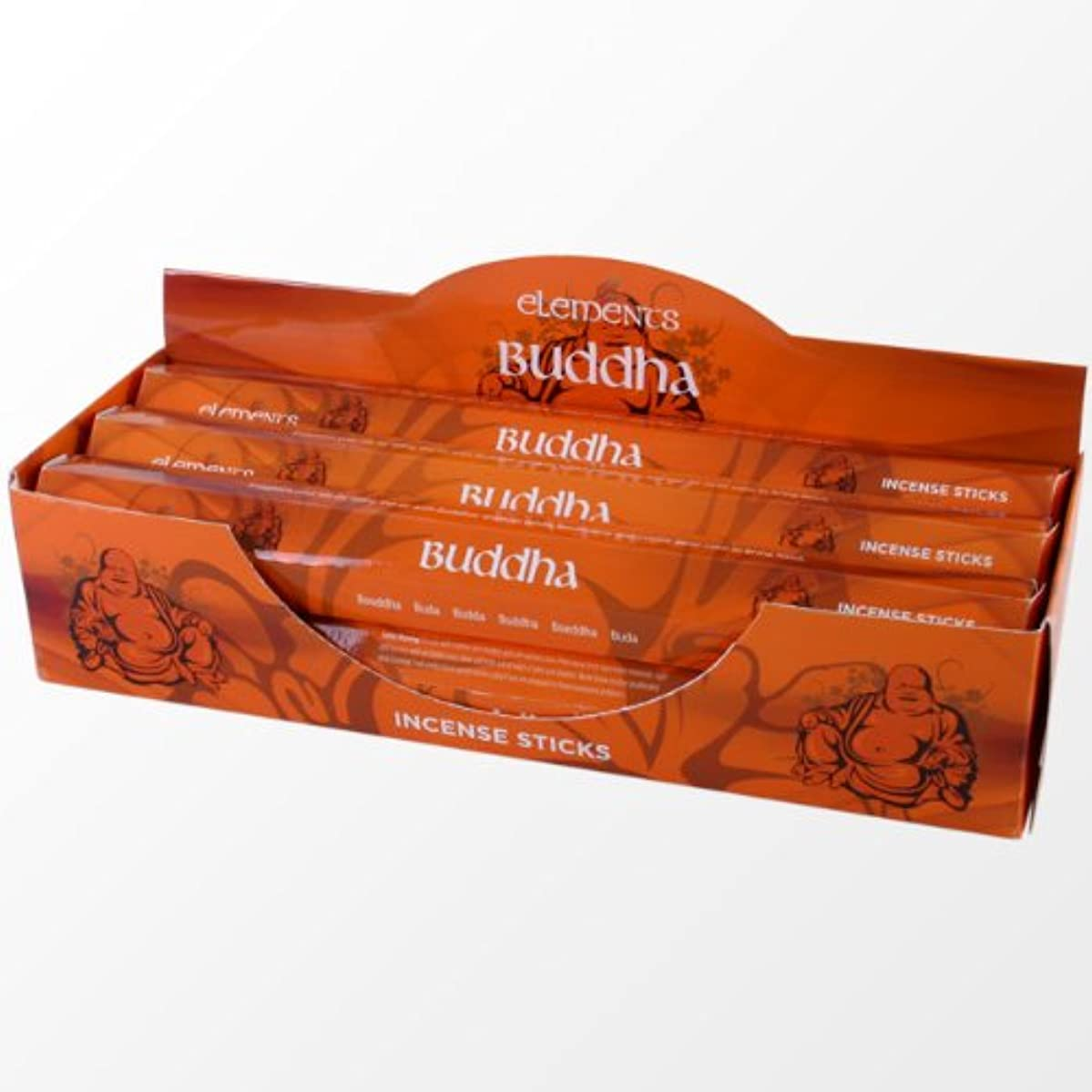 エトナ山第識別するNEW ELEMENTS MYSTICAL RANGE BUDDHA INCENSE STICKS - 120 STICKS IS85722