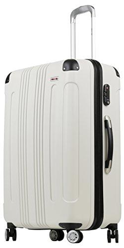 (ムーク)M∞K 超軽量スーツケース TSAロック付き 機内持ち込みSサイズ~Lサイズ (Lサイズ,...