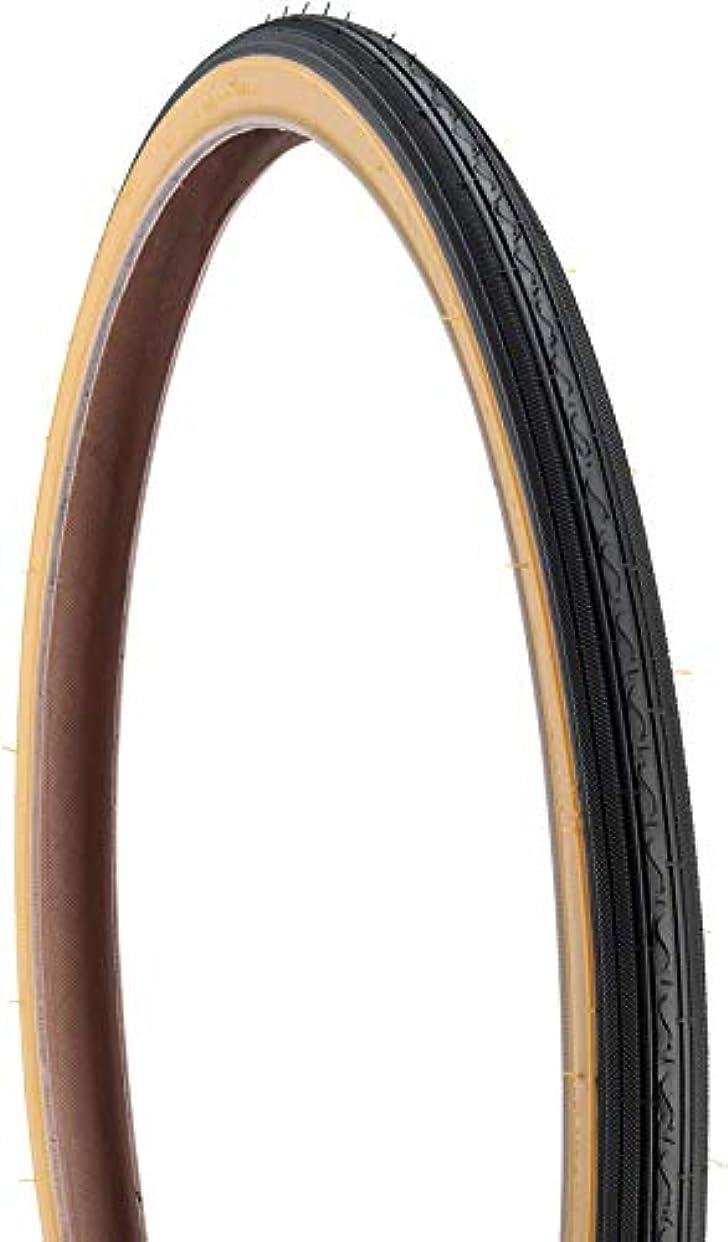 章貸し手呼び出すKenda Street K40 Road Tire 24x1 3/8 Black/Tan Steel by Kenda