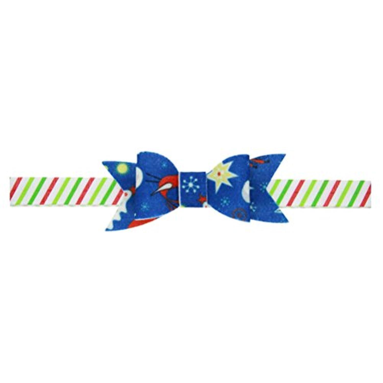 Zhhlinyuan ベビー小物 Baby Girls Flower ヘアアクセサリ Kids Toddler Christmas/Photography Pops/Costume/PartyTree Prints Headband Hairband