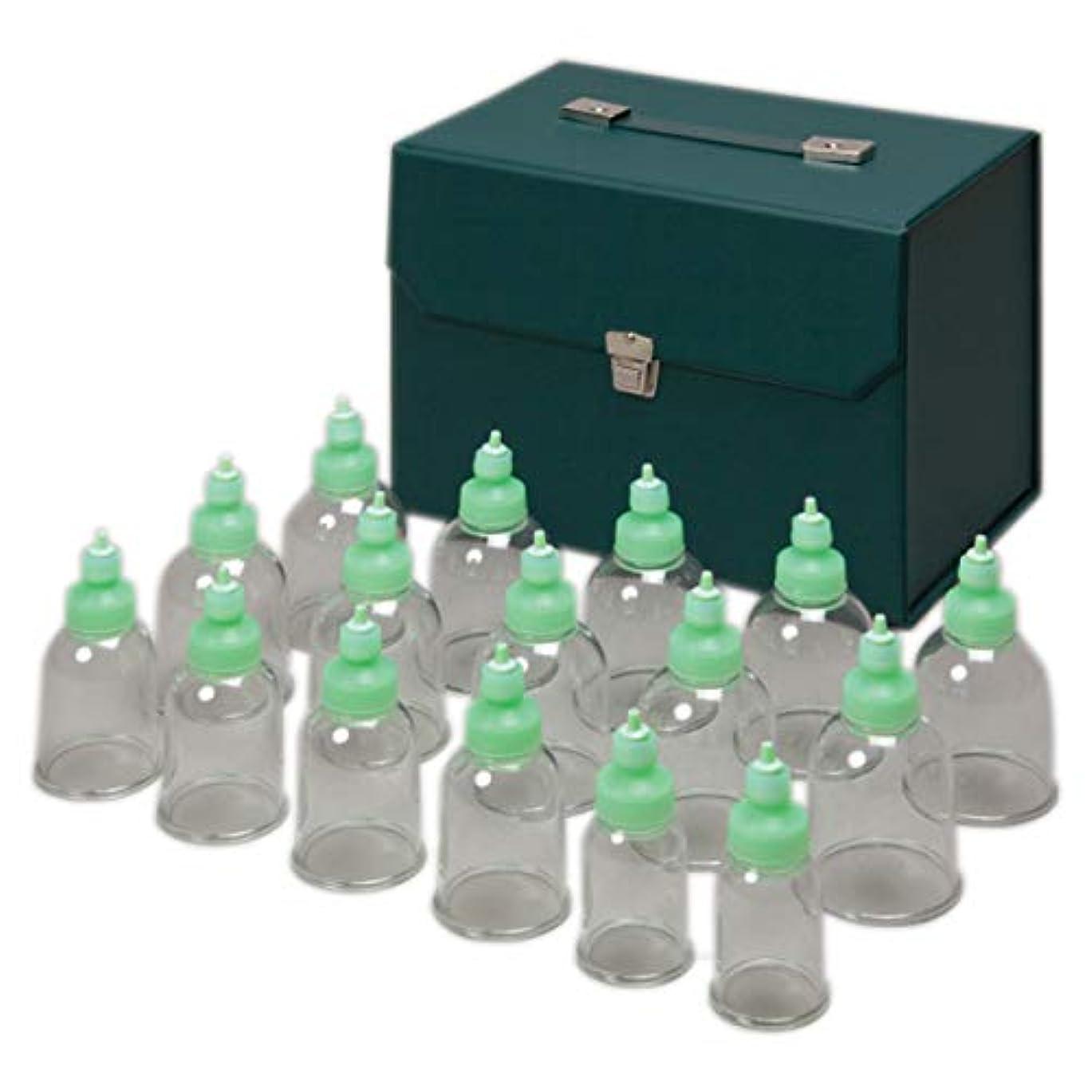 エキスパート一般的に柔和吸い玉カップ RP16 (16個セット) [ マッサージカップ カッピングマッサージ カッピングセット マッサージセット 吸引器 吸圧器 吸い玉 吸玉 マッサージ カッピング カップ 美容 業務用 ]