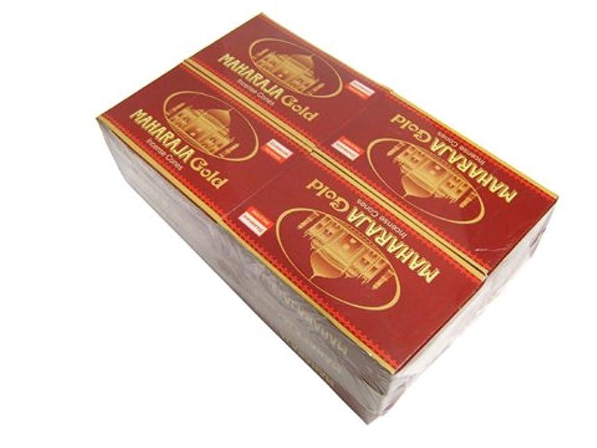ソビエトなぜインタビューDARSHAN(ダルシャン) マハラジャゴールド香 コーンタイプ MAHARAJA GOLD CORN 12箱セット