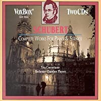 Schubert Complete Works for Piano & Strings
