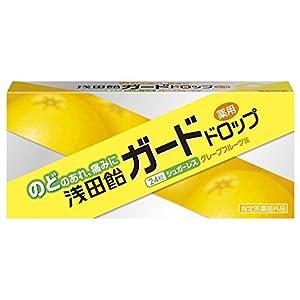 浅田飴 ガードドロップ グレープフルーツ味 24粒 [指定医薬部外品]