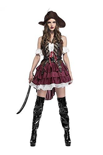 MAKE CHEERFUL パイレーツ オブカリビアン コスプレ 衣装 海賊 コスプレ レディース