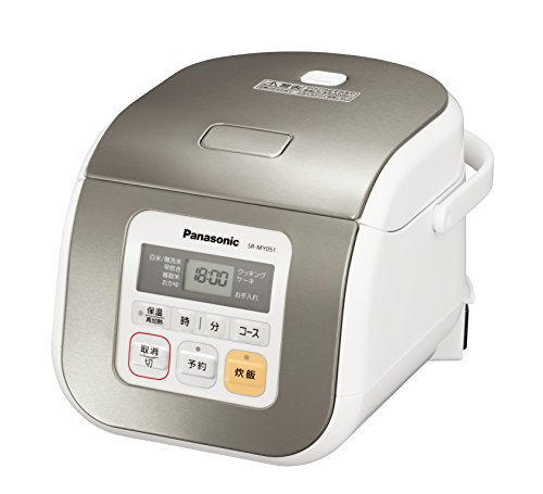 パナソニック 3合 炊飯器 マイコン式 シルバー SR-MY0...