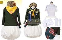 ランド(TDL) キャンプ・ウッドチャック ドナルド プリントワッペン 帽子付き☆コスプレ衣装+鞄