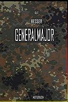 Gut - Besser - Generalmajor Notizbuch: Perfekt fuer Soldaten mit dem Dienstgrad: Gut - Besser - Generalmajor Notizbuch. 120 freie Seiten fuer deine Notizen. Eignet sich als Geschenk, Notizbuch oder als Abschieds oder Abgaengergeschenk.