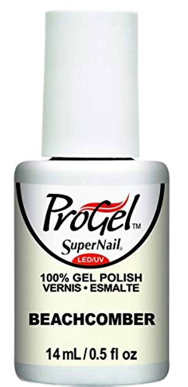 領域中間鋼SuperNail ProGel Gel Polish - Beachcomber - 0.5oz / 14ml