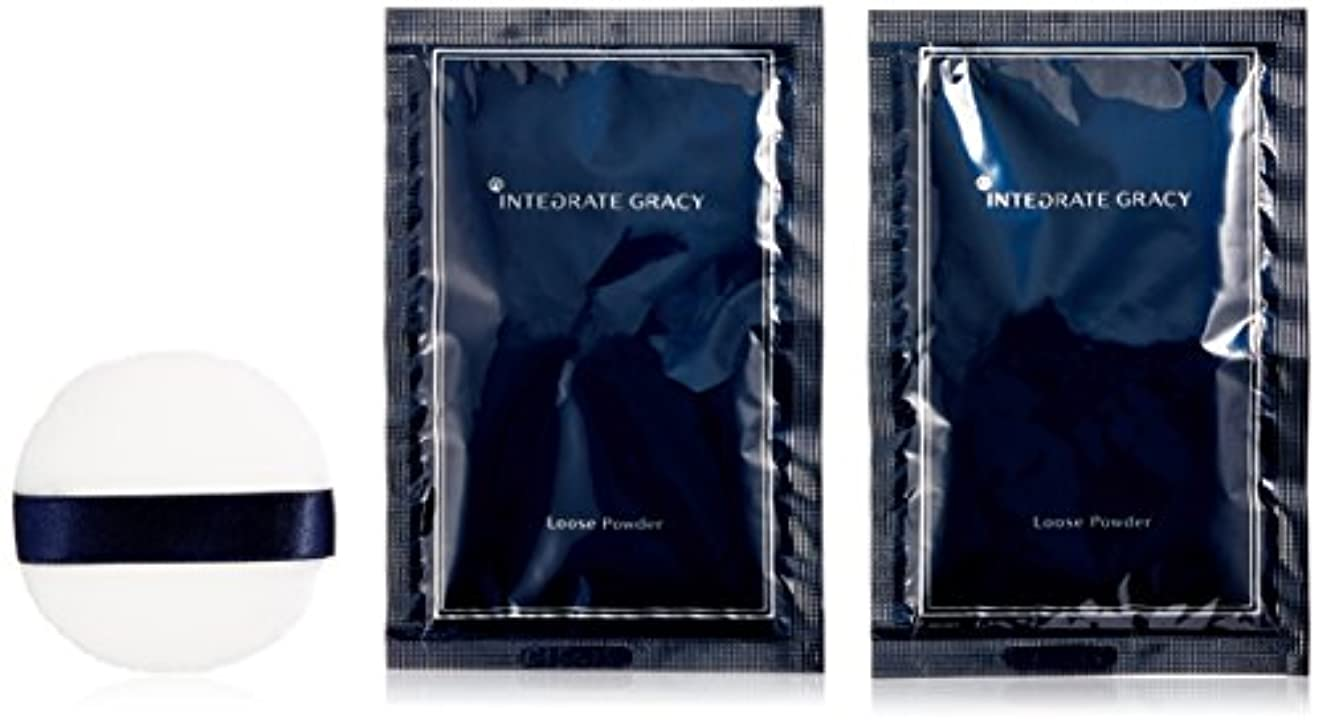 乳製品モンキータンザニアインテグレート グレイシィ ルースパウダー (レフィル) 7.5gX2袋入