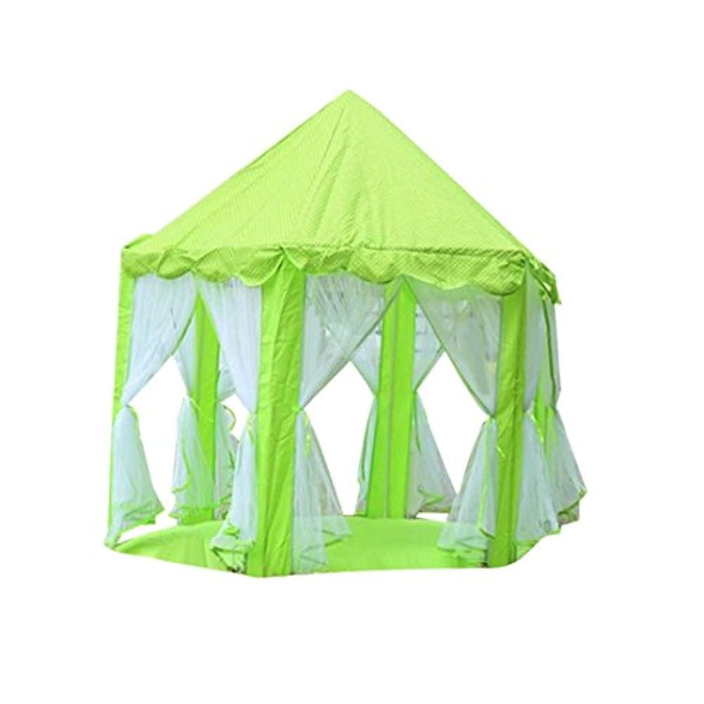enjochoファッションプリンセスCastle Tent for Kids子供のゲームの家の面白いポータブルTabernacle Baby Playing 140*135CM