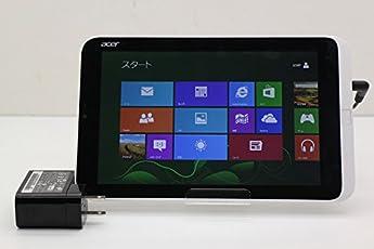【中古】 acer ICONIA W3-810 Atom Z2760 1.8GHz/2GB/64GB/8.1W/WXGA(1280x800) タッチパネル/Win8