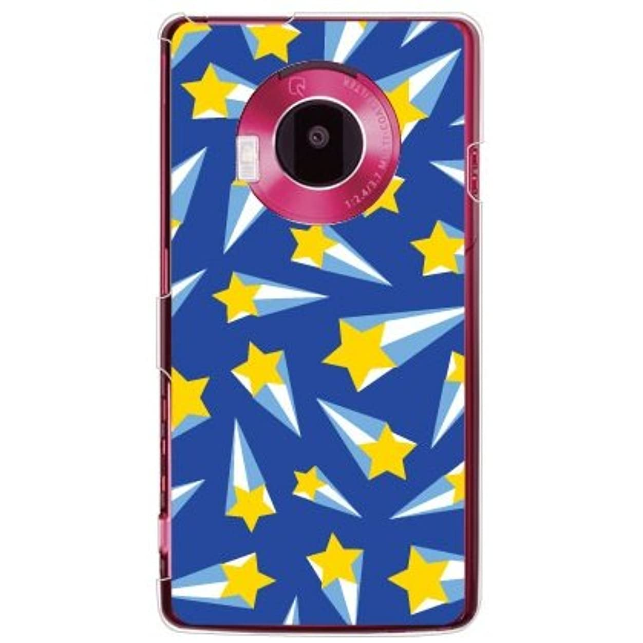 かすれた大人町YESNO シューティングスター ブルー (クリア) / for LUMIX Phone 101P/SoftBank SPS101-PCCL-201-N050