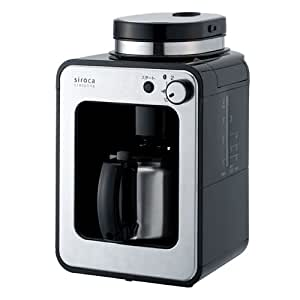 siroca crossline 全自動コーヒーメーカー ステンレスサーバー STC-501