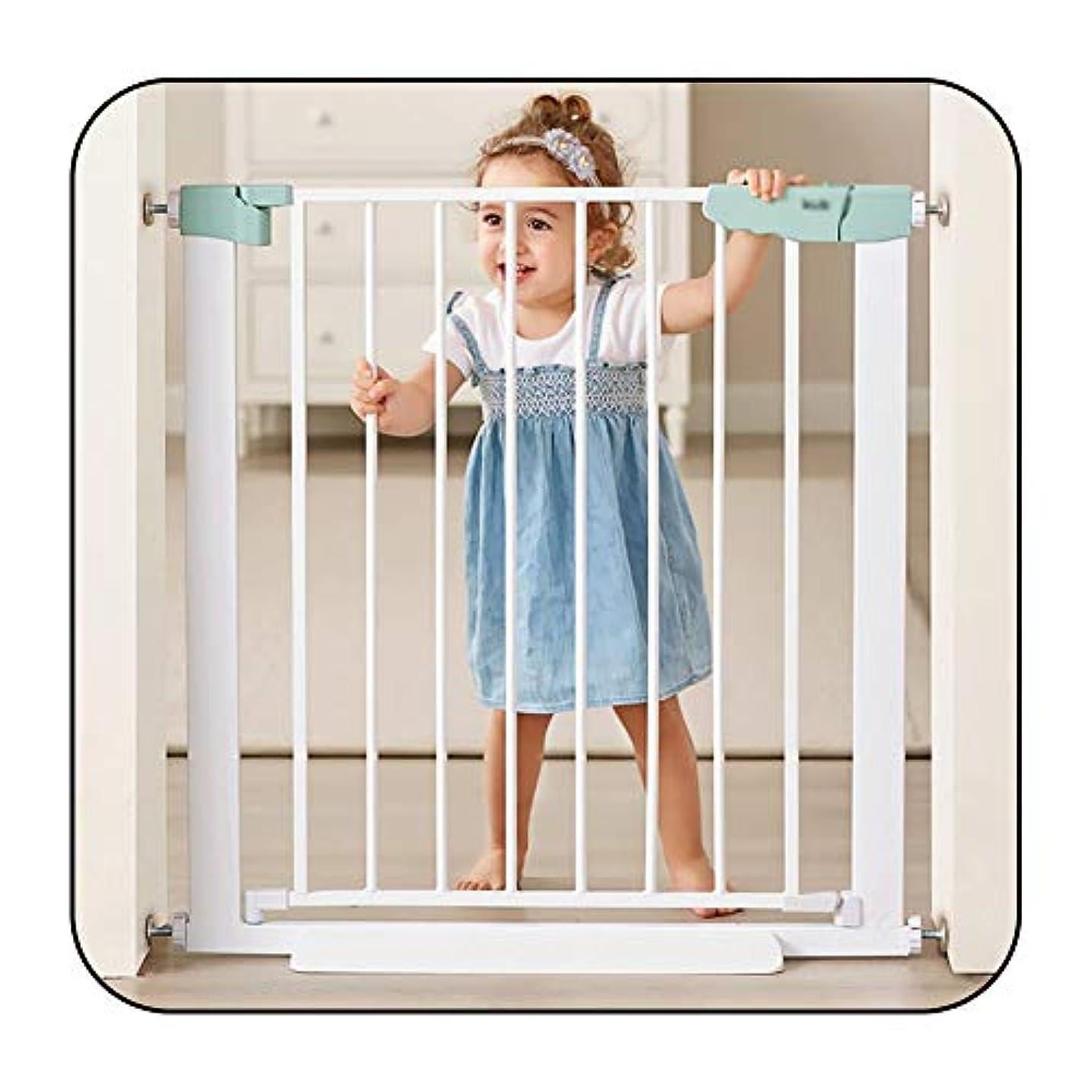 乞食リマーク揺れるベビーゲートWEIMEI 門扉を歩く 子供やペット用 フェンス 階段の門 安全性 圧力搭載 - 白い (Size : 89-96cm)