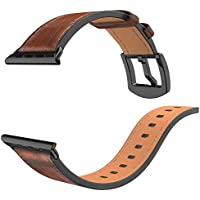 Watch Bands for iWatch Leather Wrist Watch Strap Band Buckle Replaceme For IWatch 4 Apple Watch 44mm