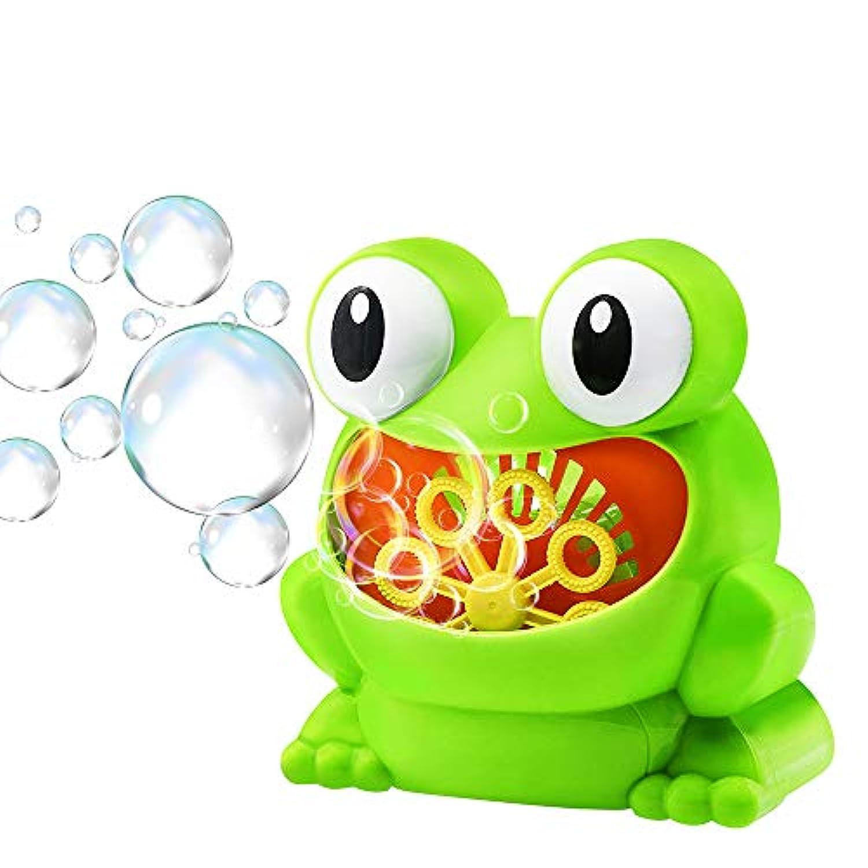 バブルマシン シャポン玉 電動式シャボン パーティー シャボンダマシーン 外遊び プール アウトドア スポーツトイ 子供たち おもちゃ 誕生日/結婚式でも適用 (1)