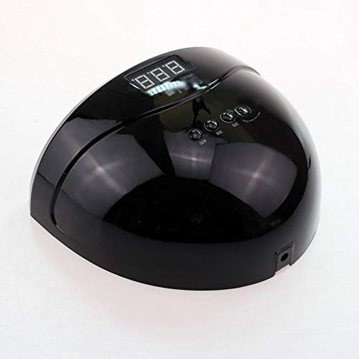 ちらつき意味スイッチネイルドライヤー - LEDマシン光線療法ネイルマシン48Wスマートデュアル光源ネイルロースト速乾性機