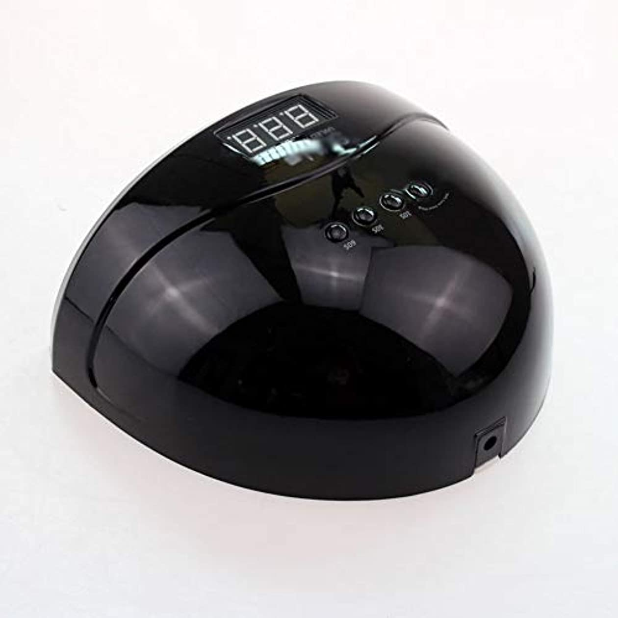 ぼんやりしたラベ幹ネイルドライヤー - LEDマシン光線療法ネイルマシン48Wスマートデュアル光源ネイルロースト速乾性機