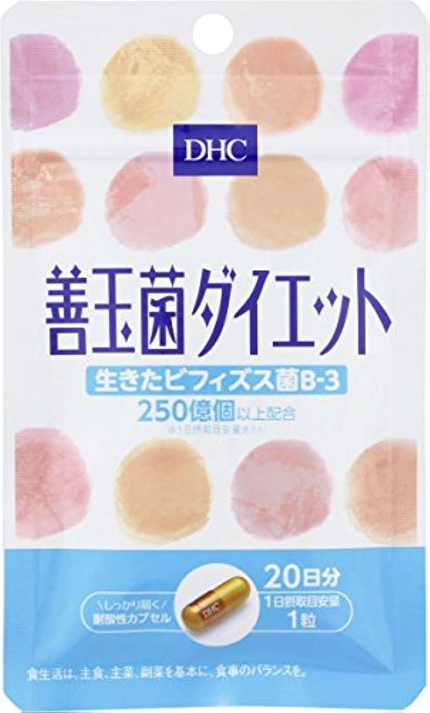 なかなか太鼓腹特別にDHC 善玉菌ダイエット 20日 20粒