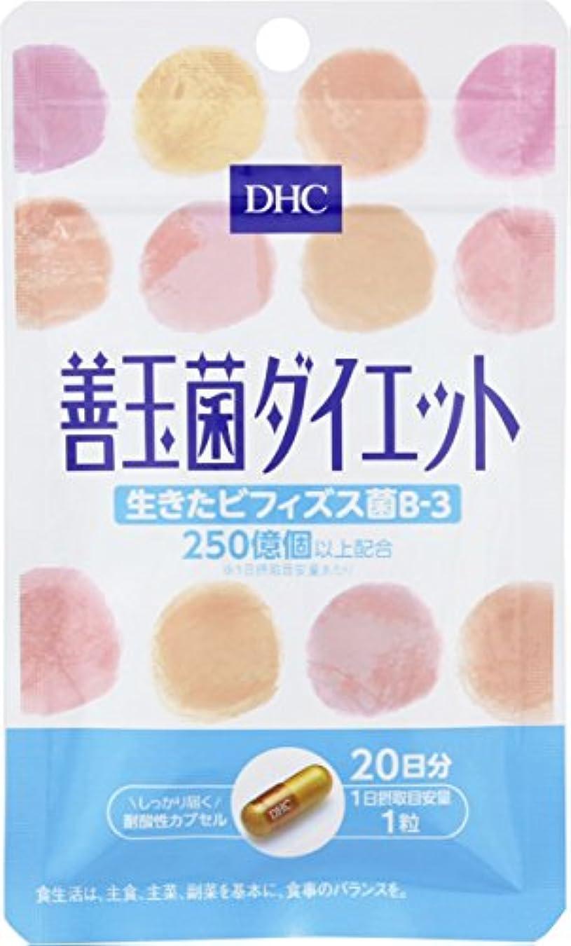 移植プロテスタントアクションDHC 善玉菌ダイエット 20日 20粒