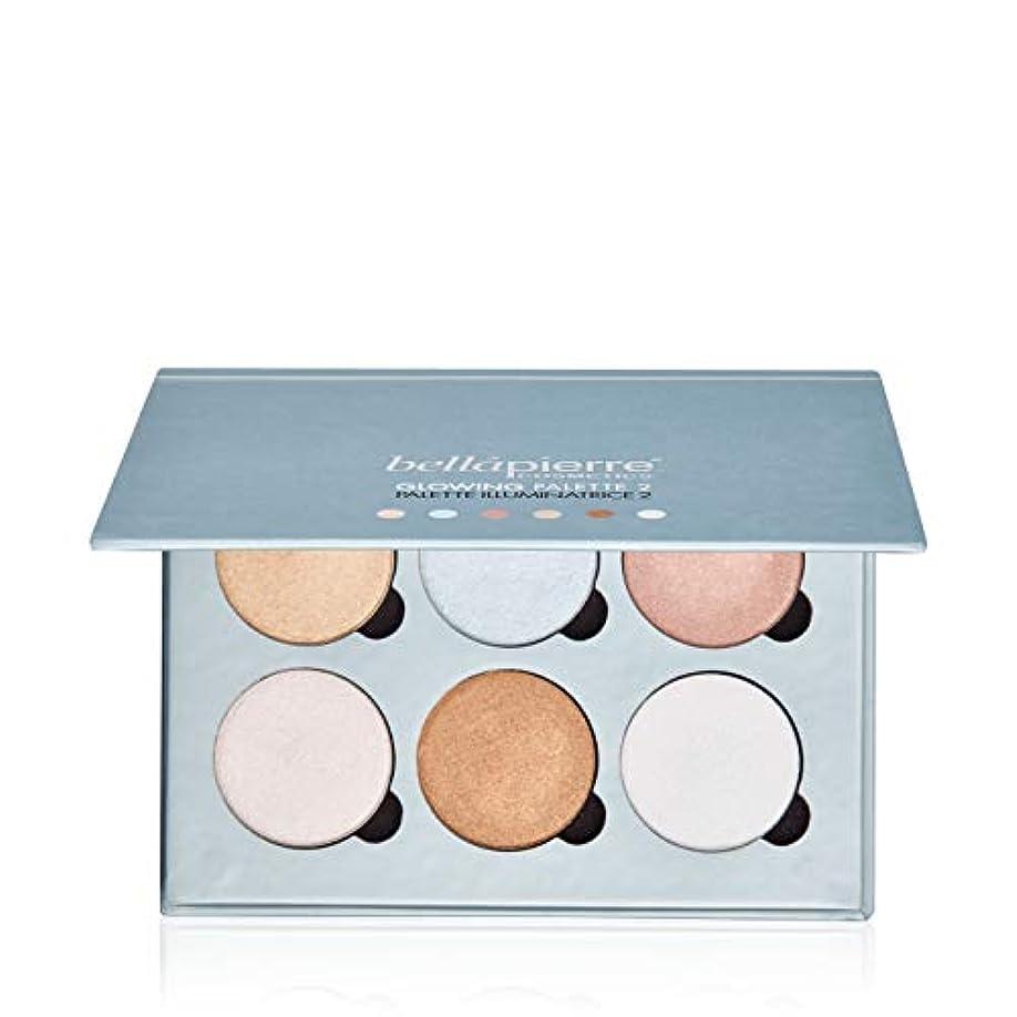 肉屋ベスビオ山抽選Bellapierre Cosmetics Glowing Palette 2 (6x Illuminator) 17.28g/0.6oz並行輸入品