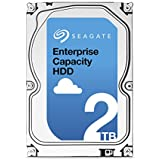 Seagate シーゲイト 内蔵ハードディスク Enterprise Capacity 3.5 HDD 2TB ( 3.5 インチ / SATA 6Gb/s / 7200rpm / 128MB ) 正規輸入品 ST2000NM0033