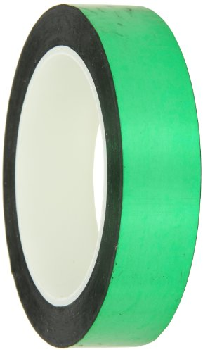 CS Hyde Green Metalized Polyester with Acrylic Adhesive .0022 Thick by CS Hyde