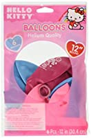 """Amscan Hello Kitty Soft Hued Printed Latex Balloons Children Decoration Party Supplies (36 piece),12"""",Multicolor [並行輸入品]"""