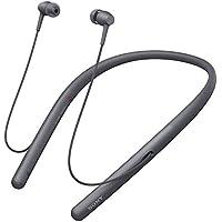 ソニー SONY ワイヤレスイヤホン h.ear in 2 Wireless WI-H700 : Bluetooth/ハイレゾ対応 最大8時間連続再生 カナル型 マイク付き 2017年モデル グレイッシュブラック WI-H700 B