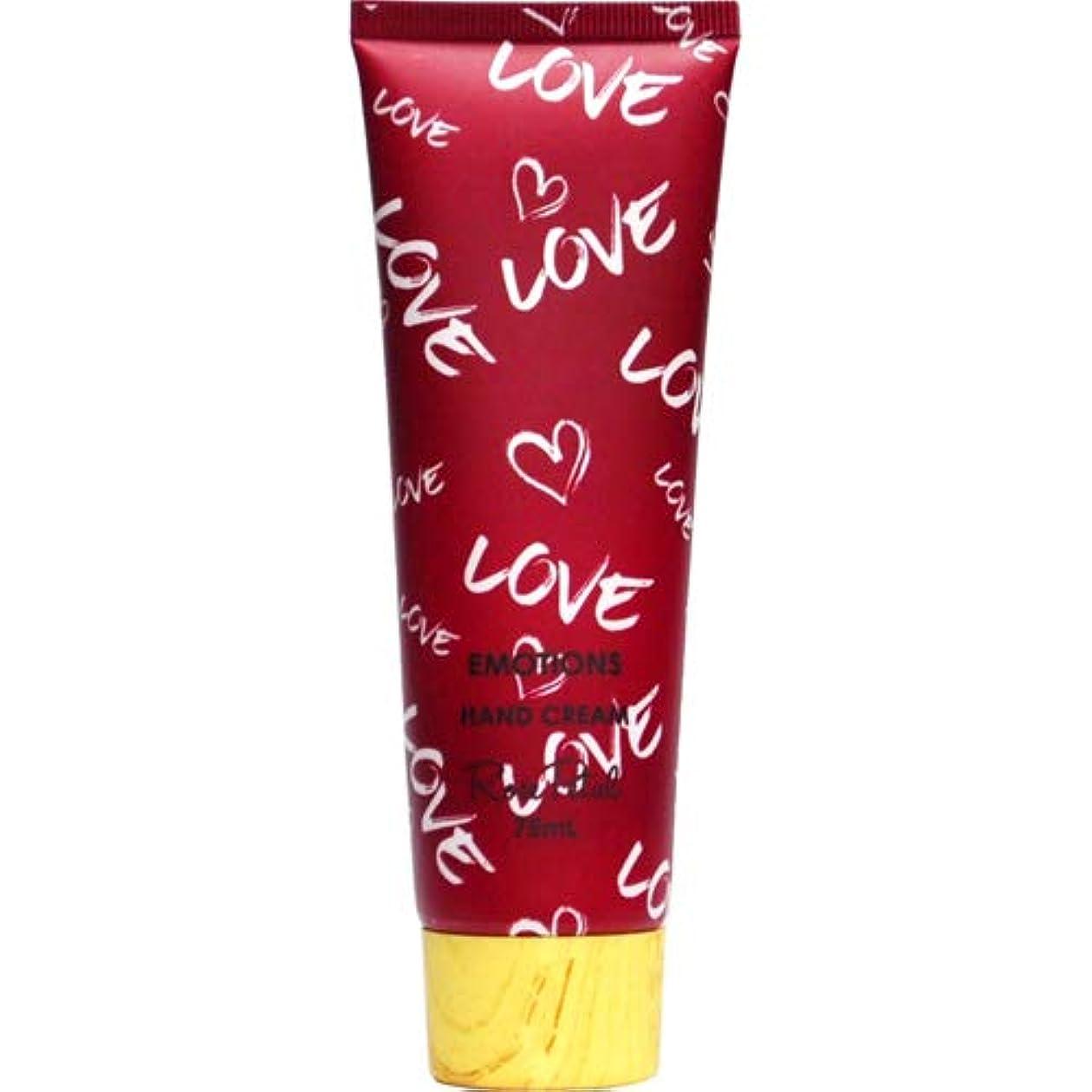 リラックスした蛇行幻滅する三和トレーディング EMOTIONS エモーション Hand Cream ハンドクリーム Love ラブ(Rose Petal ローズペタル)