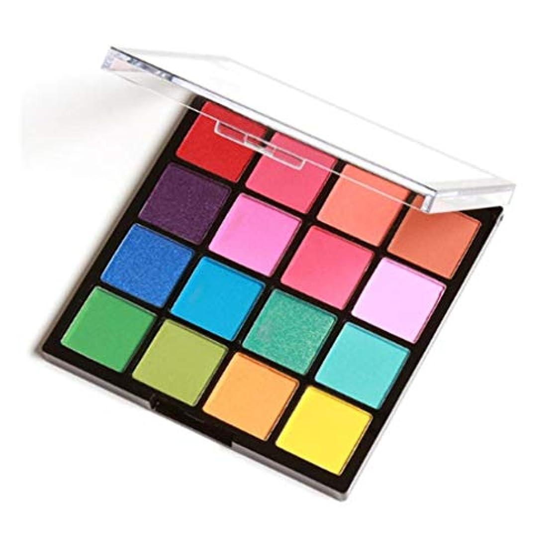 極小逆説傾斜16色/ SET女子プロアイメイクアップ化粧品パウダー防水ロングラスティングスモーキーアイシャドウパレットメイクアップセット