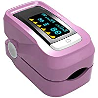 RanBow パルスオキシアート パルス オキシメーター 家庭用 介護 看護 高齢者 ミニ 脈拍計 SpO2 酸素測定器 デイリーチェック 軽量 血中酸素 脈拍 測定 オートシャットダウン 表示方向の自動切替 敬老の日 全3色