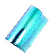 LQKYWNA Car Light Film Styling Chameleon Stickers Automobile Sticker Headlight Taillight Vinyl Tint Light Film Wrap 3060cm (Light Blue)