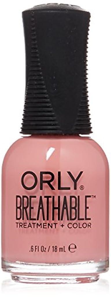 必須オーバーラン認可Orly Breathable Treatment + Color Nail Lacquer - Happy & Healthy - 0.6oz/18ml