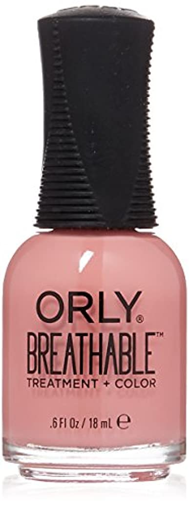 家事をする公ホステルOrly Breathable Treatment + Color Nail Lacquer - Happy & Healthy - 0.6oz/18ml