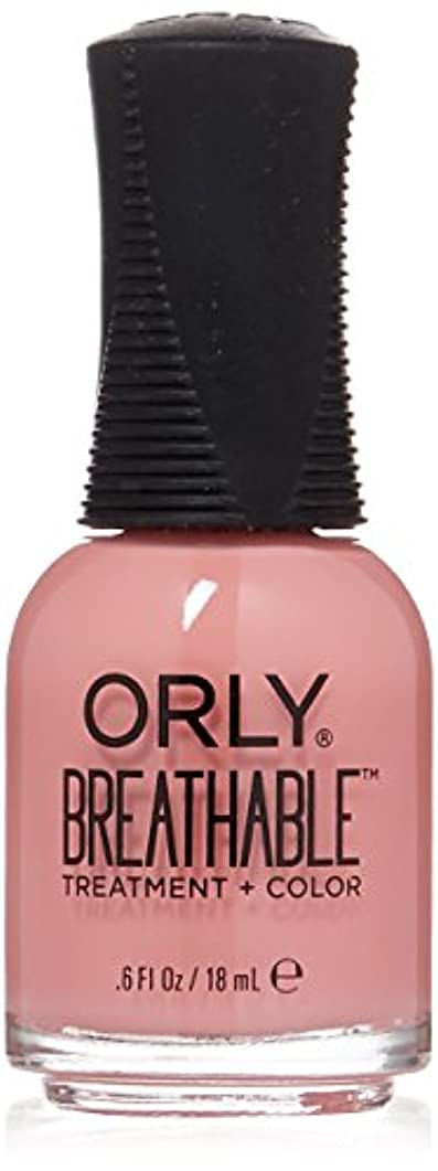 卵意味するシャーロットブロンテOrly Breathable Treatment + Color Nail Lacquer - Happy & Healthy - 0.6oz/18ml